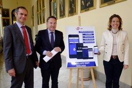 La nueva aplicación de la EMT de Málaga incluye notificaciones personalizadas sobre las líneas y paradas