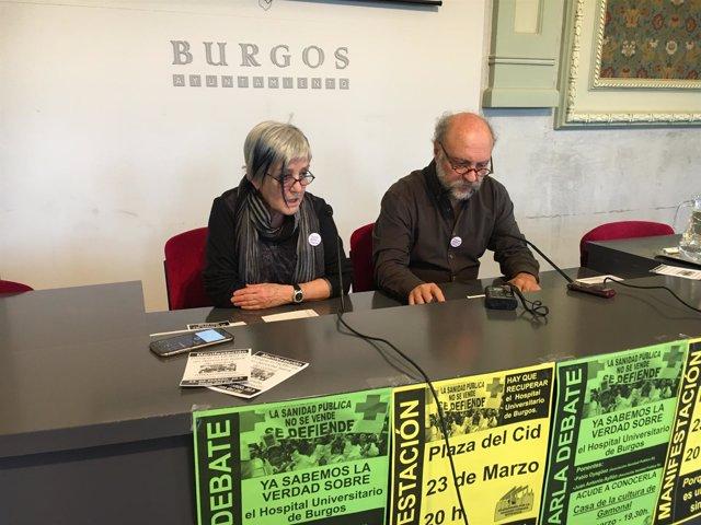 Burgos: Raquel Alonso y Antonio Ayllón