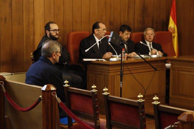 Juicio al Padre Roman por el caso 'Romanones' en el TSJA de Granada