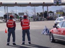 Las policías de Navarra realizan esta semana controles específicos de uso del cinturón de seguridad