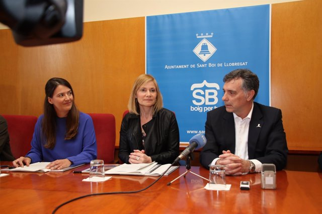 Cristina Ribes, Lluïsa Moret y Agustí Gaso