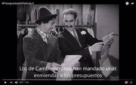 Los Hermanos Marx revisan las enmiendas de Cambiemos Murcia a los presupuestos de 2017