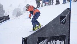 Astrid Fina finaliza subcampeona de la Copa del Mundo de Snowboard para Discapacitados Físicos
