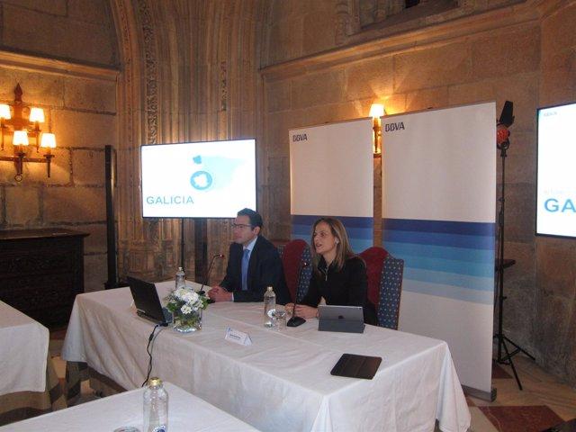Informe del BBVA sobre crecimiento de Galicia