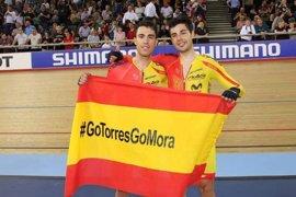 Los dúos Mora-Torres y Casas-Calvo lideran la selección para el Mundial de Pista