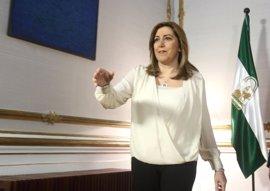 """La Junta garantiza que Susana Díaz seguirá trabajando por Andalucía """"como hasta ahora"""""""