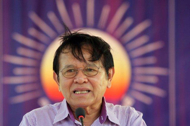 Kem Sokha, líder del Partido para el Rescate Nacional de Camboya (PRNC).