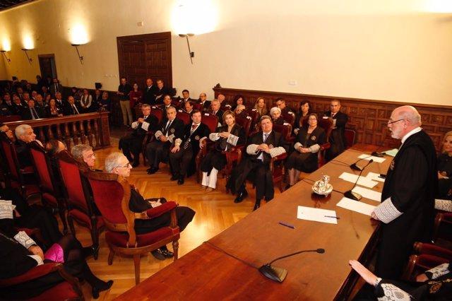 El Fiscal General del Estado, José Manuel Maza, en la Real Chancillería