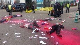 """Ahora Madrid muestra su apoyo a activistas y rechazo a Homsec porque la ciudad está """"contra el negocio de la muerte"""""""