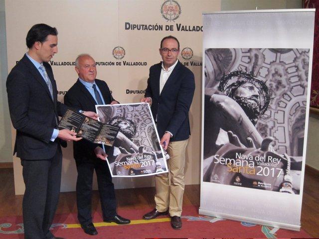 Valladolid. Presentación de la Semana Santa de Nava del Rey