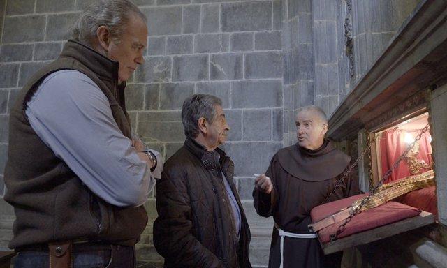 Bertín Osborne y Miguel Ángel Revilla en Mi casa es la tuya