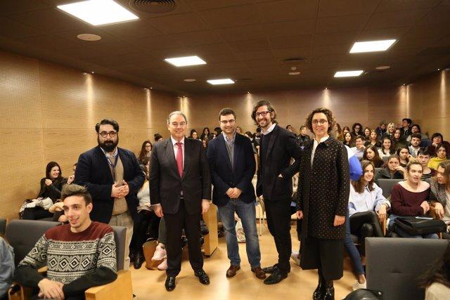 Inauguración de la III Semana del Diseño de CESINE