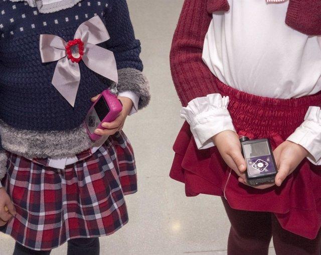 Bombas de insulina en manos de niños con Diabetes en el HUCA