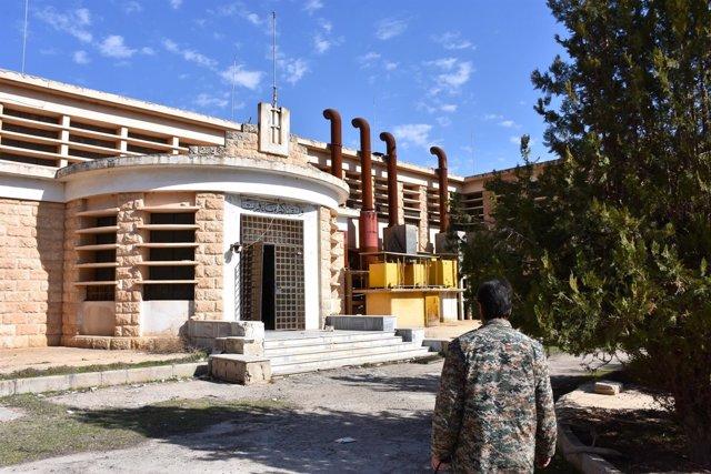 Estación de bombeo de agua de Alepo