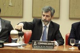 Lesmes comparece mañana en el Congreso para informar de la actividad de los tribunales en 2016