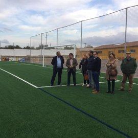 Inversión de más de 256.000 euros para mejoras en el campo de fútbol de Castellar