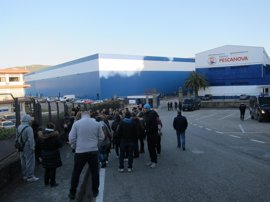 El 100% del personal de Pescanova secunda la huelga en las fábricas
