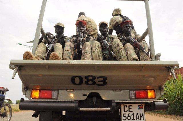 Guerra en Sudán del Sur