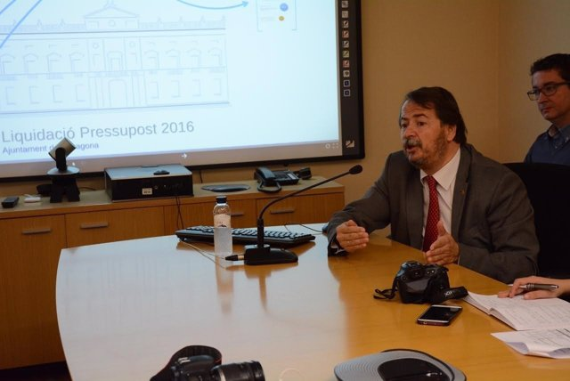 El concejal de Economía y Hacienda, Pau Pérez