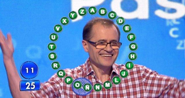Julio Escartín concursante de Pasapalabra