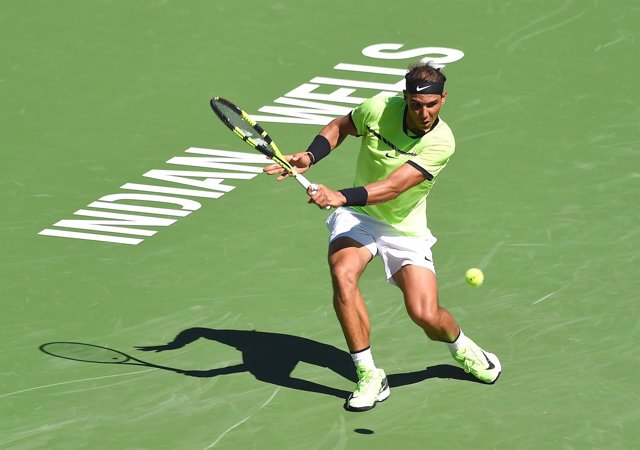 Rafa Nadal en el Masters 1000 de Indian Wells