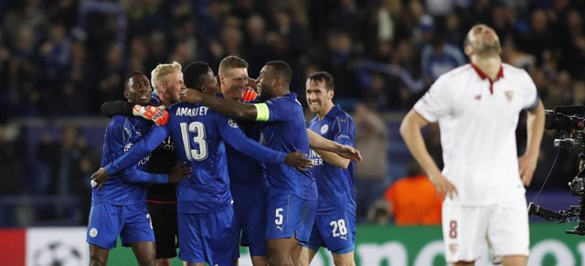 El Sevilla cae ante el Leicester en Champions League
