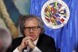 """Almagro pide suspender a Venezuela como miembro de la OEA por la """"ruptura del orden democrático"""""""
