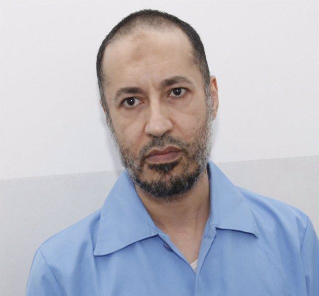 Saadi Gadafi, hijo de Muamar Gadafi, en prisión