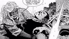 Así es realmente en los cómics la última gran muerte de The Walking Dead