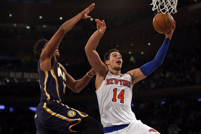 Willy Hernangómez en el New York Knicks - Indiana Pacers