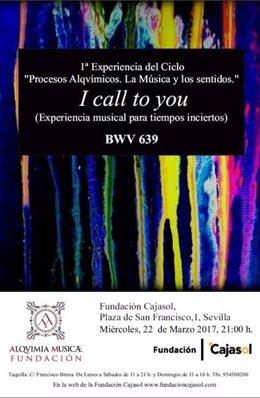 Ciclo de Fundación Cajasol y Fundación Alquimia Musica