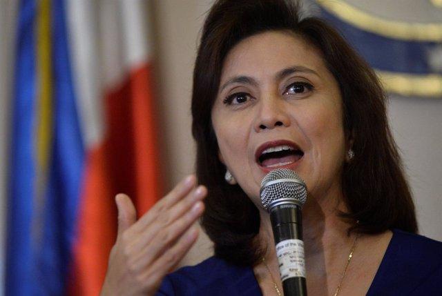 La vicepresidenta de Filipinas, Leni Robredo