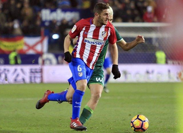Koke en el Atlético de Madrid - Real Betis