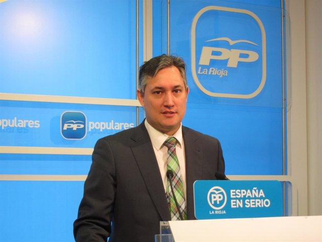 José Luis Pérez Pastor senador del PP riojano