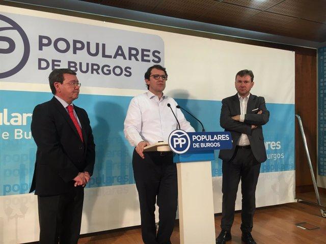 Burgos. Fernández Mañueco