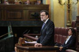 """Rajoy dice a ERC que su Gobierno no amenaza sino que cumple la ley y recalca: """"Nadie les hace caso en Europa"""""""