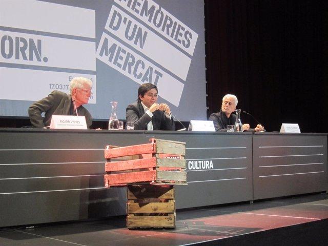 Ricard Vinyes, Gerardo Pisarello y Manel Guàrdia