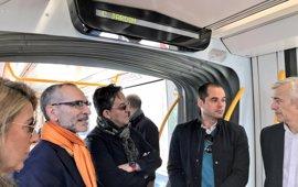"""Ciudadanos propone sustituir el """"ruinoso"""" metro ligero por autobuses eléctricos"""