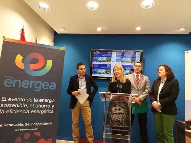 Presentación del congreso Expoenergea en Cáceres