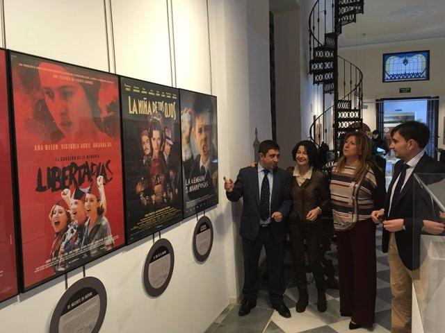 Inauguración de la exposición sobre la Guerra Civil y el cine