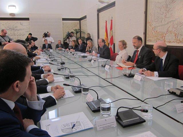 Valladolid. Reunión del Consejo Financiero de CyL