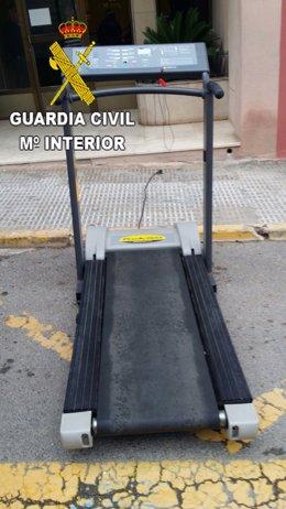 CINTA DE CORRER ROBADA