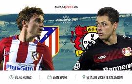 Horario y dónde ver el Atlético de Madrid – Bayern Leverkusen | Vuelta octavos de final Champions League