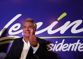 El oficialista Moreno, en cabeza de cara a la segunda vuelta de las presidenciales en Ecuador