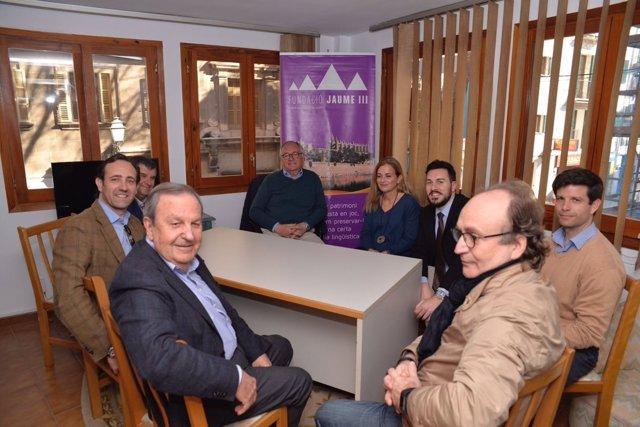 Bauzá se reúne con la Fundació Jaume III
