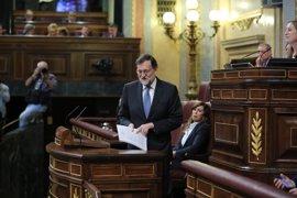 """Rajoy recalca a ERC que """"todos"""" están sometidos a la ley y le espeta: """"Nadie les hace caso en Europa"""""""