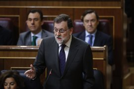 """Rajoy reprocha al PNV que vaya de """"paladín"""" de las víctimas del amianto """"echando el muerto"""" al Gobierno"""