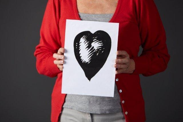 Mujer, corazón, cardiovascular