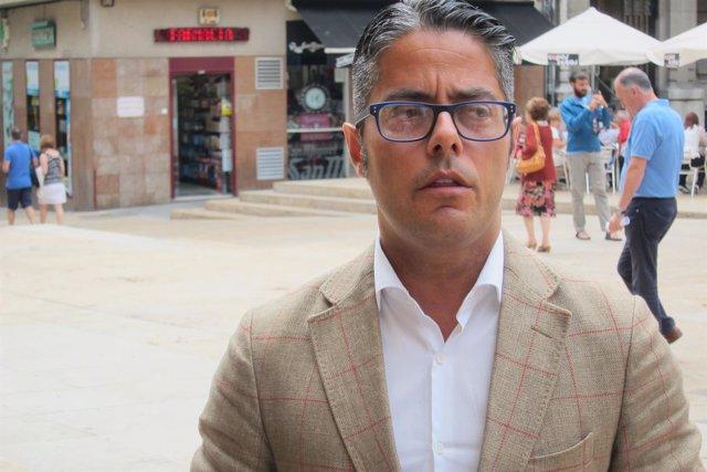 El concejal  del Partido Popular en el Ayuntamiento de Oviedo, Gerardo Antuña,