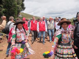 Agua potable y retretes decentes a 4.000 metros de altura en Perú con ayuda de la Cooperación Española